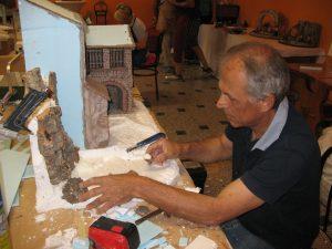 Krippenbaukurs bei Antonio Pigozzi in Italien 2017